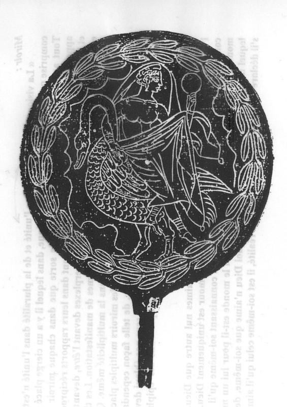 Le miroir a t longtemps l 39 attribut solaire des divinit s for Venus au miroir