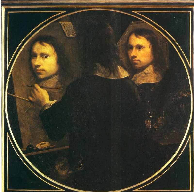 Le miroir est utilis par les peintres for Autoportrait miroir
